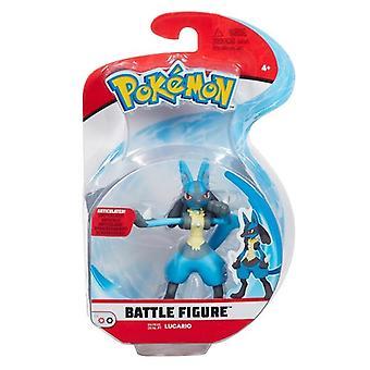 Pokémon lucario battle figure