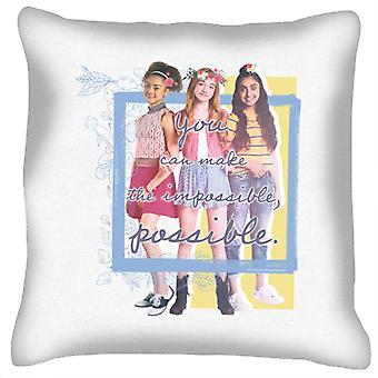 Holly Hobbie You Can Make The Impossible Possible Cushion