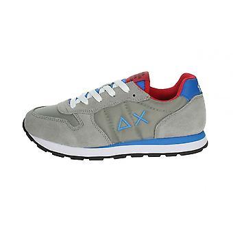 Shoes Baby Sun68 Sneaker Boy's Tom Solid Nylon Medium Grey Zs21su06 Z31301