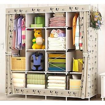 Moderne sammenleggbar garderobe Diy montering