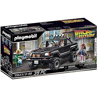 Playmobil de volta para o futuro Marty Pick Up Truck Playset