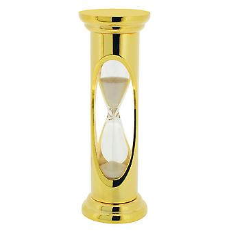 GTP Unisex 84x27mm Gold Plated on Alloy Glass 3 Minute Sand-Timer IMP802/G