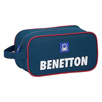 Matka tossunpidike Benetton Polyester Navy Sininen