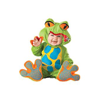 Kids Baby Toddler Lil Froggy Animal Fancy Dress Costume