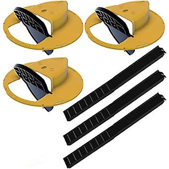 Flip N Slide Bucket Lid Mouse Rat Trap 4pcs 11330