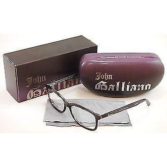 John Galliano Eyeglasses Frame JG5011 055 Plastic Havana Black Over News Italy