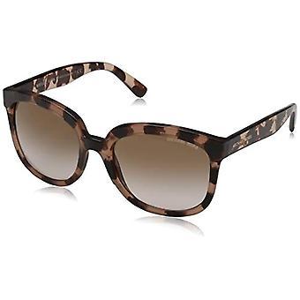 מייקל קורס פלמה 333713 55 משקפי שמש, ורוד (צב ורוד/Brownpeachgradient), אישה
