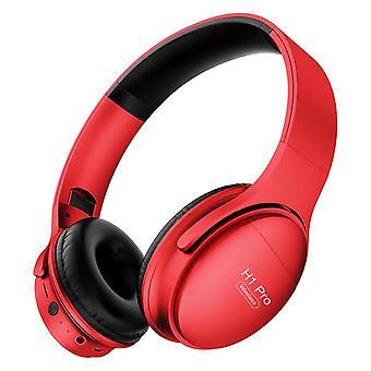 Draadloze Bluetooth Hoofdtelefoon HiFi Stereo Gaming Headset V5.0 Opvouwbare Oortelefoon met Micphone