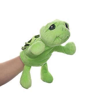 Schildpad handpoppen dierlijk speelgoed voor fantasierijk spel, kous, meisjes, jongens