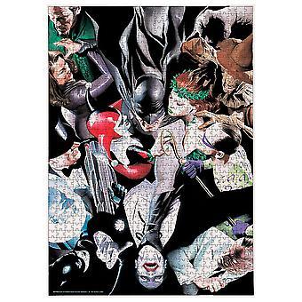 DC Comics - Batman Feinde - 1000 Stück Puzzle
