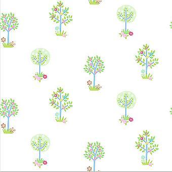 Galerie Tiny Tots Tree Wallpaper