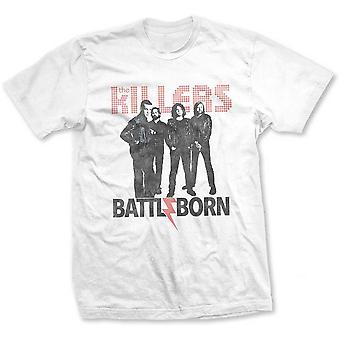 The Killers - Battle Born Men's Large T-Shirt - Black