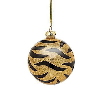 Sass & Belle Tiger Stripe Kerstbal