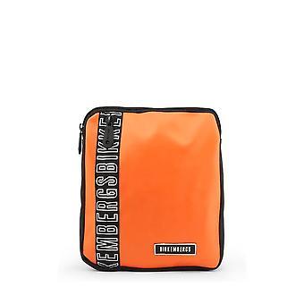Bikkembergs - Bags - Shoulder bags - E2APME170032040-Orange - Men - orange,black