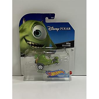 Hot Hjul Mike Wazowski Monster Inc Disney Pixar Karakter Bil GDW06