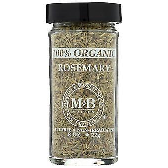 Morton & Bassett Spice Rosemary Org, Case of 3 X 0.8 Oz