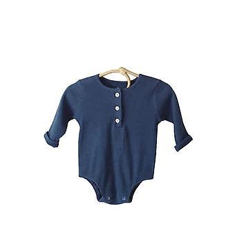 Bambino a maniche lunghe rompers vestiti neonati per 0-2 anni