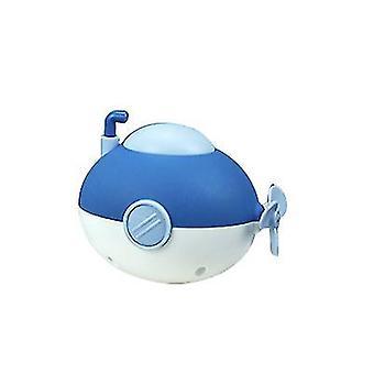 Uurwerk spelen in water baby baden onderzeeër speelgoed (blauw)