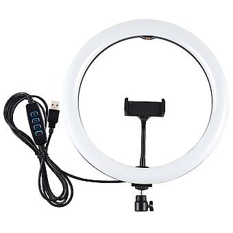 Puluz Pu457b/pu457f 11.8 Inch 30cm 3200k 6500k 3 Modes Dimmable Dual Color Temperature Led Ring Light For Vlogging Selfie Photography Video With Phone