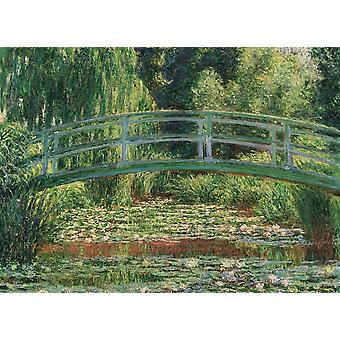 Eurographics La passerelle japonaise, Puzzle Claude Monet (1000 Pièces)