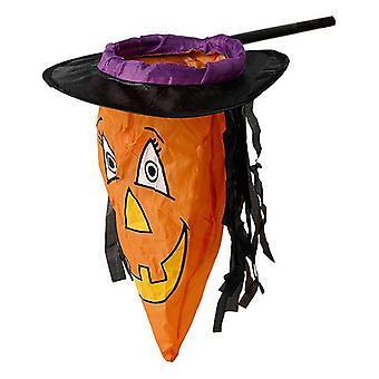 Decorative basket Witch Pumpkin