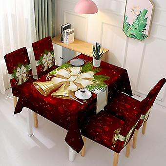 Christmas Tablecloth Chair Cover One-piece Chair Cover Cover Absorbent Tablecloth
