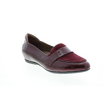 Earthies Vuxen Kvinnor Bremen Crinkled Patent Loafer Lägenheter