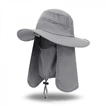 Outdoor Sun Hat, Sun Protection, Fishing Climbing Hat(Color3)