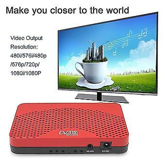 Dvb-s2 +iptv+iks Tv Box Top Advanced Full Hd Combo Receiver Home Enetertainment