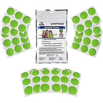 Mosquito Patch Stickers For Kids Deet Free Natural Plant Based Ingredients(Blue)