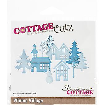 """CottageCutz Dies - Winter Village, 5.2""""X3.3"""""""