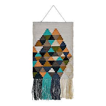 Hanging decoration DKD Home Decor Jute Cotton (51 x 2 x 115 cm)