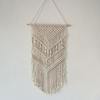Home decor decals macrame woven wall hanging boho chic geometric art room geometric tapestry art