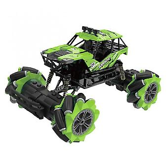 1:18 12-channel Omnidirectional Remote Control Climbing Stunt Car Drift Toy Green