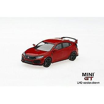 Toy cars 1/64 honda civic type r fk8 rallye red rhd