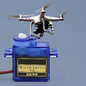 Sg90 Micro 9g Servo For Rc Helicopter Hitec Jr Futaba Align Trex Us Sel