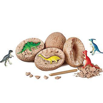 12szt Jurassic World Dinosaur Egg Scientifique Zabawki górnicze