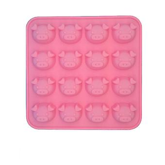 Pig Silicone Molds, 1 Pcs Non-stick Food Grade Silicone Molds For Chocolate