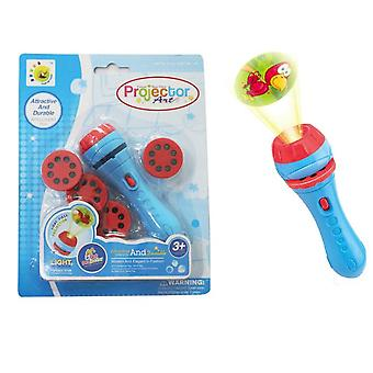 Children's Projection Flashlight Early Education Projector
