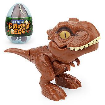 1pcs vinger dinosaurus ei speelgoed creatieve lastige tyrannosaurus model dinosaurus speelgoed interactieve bijtende hand dinosaurus kinderen cadeau