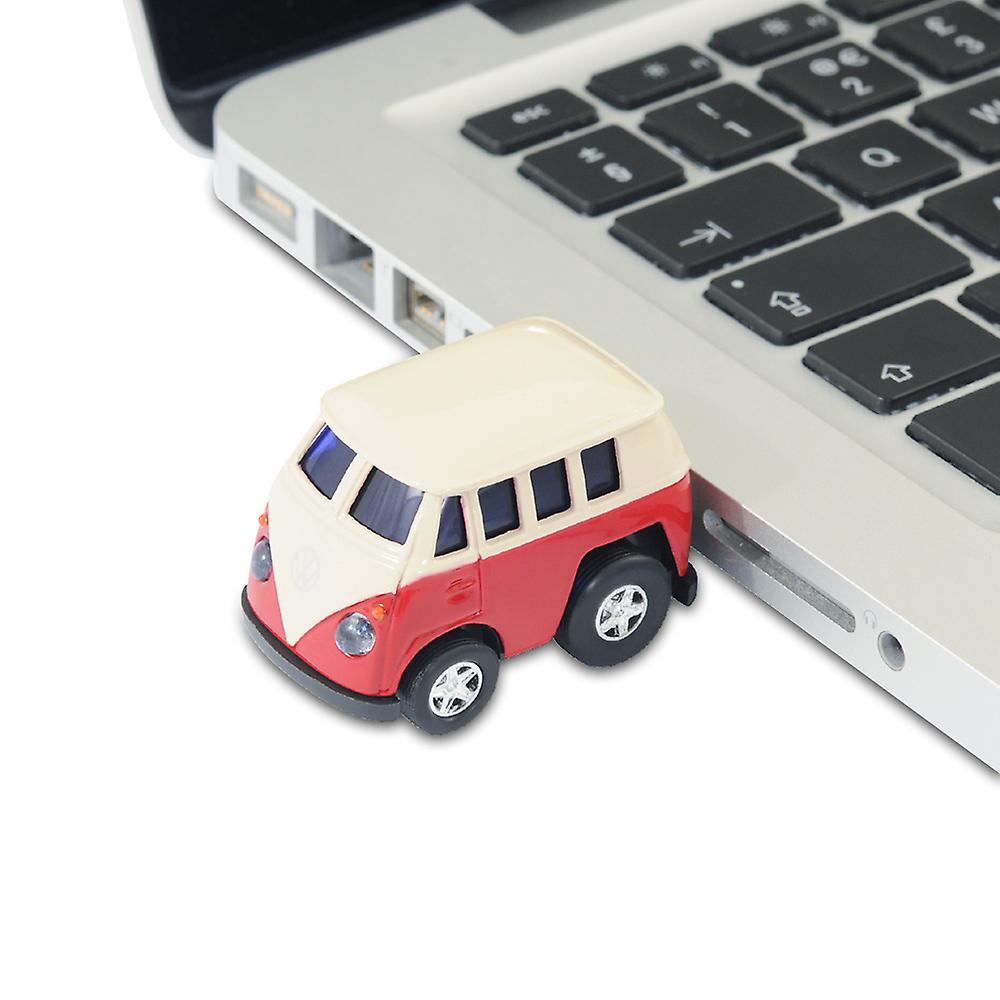 Official VW Camper Van Q-Series Bus USB Memory Stick 8Gb - Red