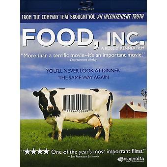 Importação de EUA Food Inc. [BLU-RAY]