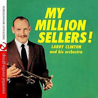 Larry Clinton - My Million Sellers! [CD] USA import