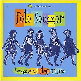 ピート ・ シーガー - 歌・ プレイ時間 [CD] USA 輸入