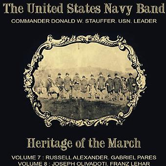 Alexander / Pares / Lehar / Olivadoti - United States Navy Band-Heritage of the March [CD] USA import