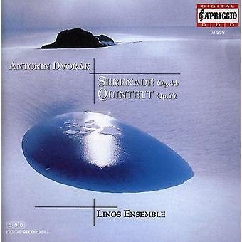 A. Dvorak - Antonin Dvor K: Serenade, Op. 44; Quintet, Op. 77 [CD] USA import