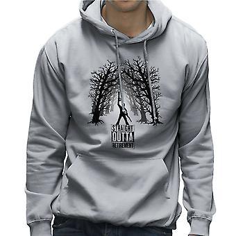 De Comeback Ash Vs Evil Dead Straight Outta pensioen mannen de Hooded Sweatshirt