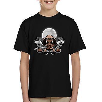 Shuffle en snijd Michonne Walking Dead Kid's T-Shirt