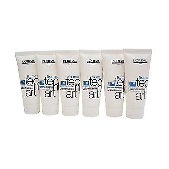 L'Oreal Professional Shaping Gel Extra Hold .06 OZ Pack of 6 Travel Size