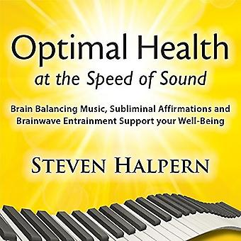Steve Halpern - Optimal Health at the Speed of Sound [CD] USA import